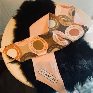 Coach Accessories - Coach ponytail scarf